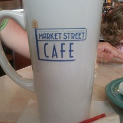 Photo taken at Market Street Cafe by Dave M. on 4/8/2012