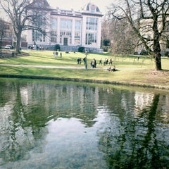 Photo taken at Parc Léopoldpark by Stefan T. on 3/12/2012