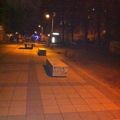 Photo taken at Helmholtzplatz by BroSys on 2/25/2012