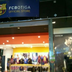 Photo taken at FCBotiga Official Store by Susana P. on 3/12/2012