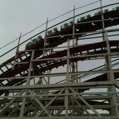 Photo taken at Giant Dipper Rollercoaster by Oly L. on 7/11/2012