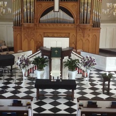 Photo taken at First presbyterian church by Marcus S. on 6/8/2012