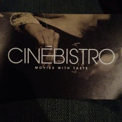 Photo taken at CinéBistro at Dolphin Mall by Valeria P. on 8/25/2012