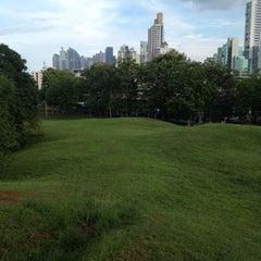 Photo taken at Parque Recreativo y Cultural Omar by Leonardo A. on 6/3/2012