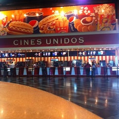 Photo taken at Cines Unidos by jesus m. on 2/10/2012