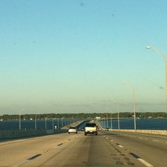 Photo taken at Henry Holland Buckman Bridge by Mike H. on 5/19/2012