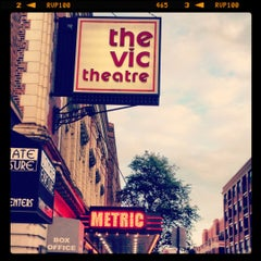 Photo taken at The Vic Theatre by Krystle on 8/11/2012