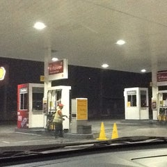 Photo taken at Shell by Lucky T. on 6/16/2012