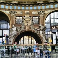 Photo taken at Prague Main Railway Station by Joerg on 7/12/2012