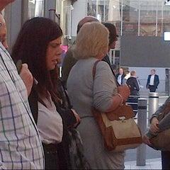 Photo taken at London Bridge Bus Station by Kat S. on 8/23/2012