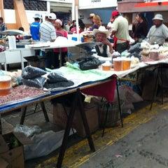 Photo taken at Mercado De Antojitos by Crisho Z. on 3/4/2012