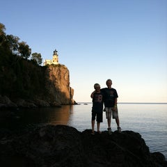 Photo taken at Split Rock Lighthouse by Anessa P. on 8/14/2012