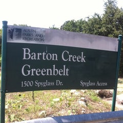 Photo taken at Barton Creek Greenbelt Spyglass by Edward M. on 7/14/2012