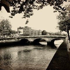Photo taken at The River Liffey by Lenka T. on 8/16/2012