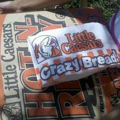 Photo taken at Little Caesars Pizza by Merari S. on 6/15/2012
