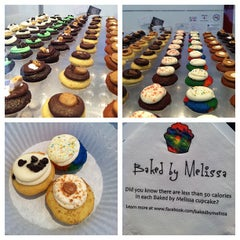 Photo taken at Baked By Melissa by Julian N. on 4/12/2012