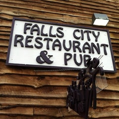 Photo taken at Falls City Restaurant & Pub by Gregory W. on 7/21/2012