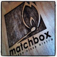 Photo taken at Matchbox Vintage Pizza Bistro by Scott K. on 3/18/2012