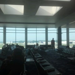 Photo taken at Concourse B - Richmond International Airport by Marcus T. on 6/19/2012