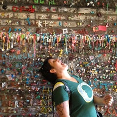 Photo taken at Gum Wall by Richard A. on 8/28/2012