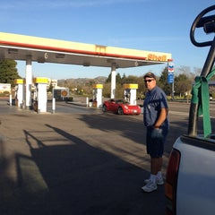 Photo taken at Shell by Margie on 2/13/2012