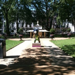 Photo taken at Berkeley Square by Paul S. on 7/23/2012