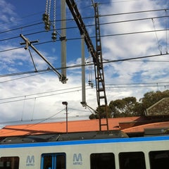 Photo taken at Ringwood Station by Christina T. on 2/15/2012