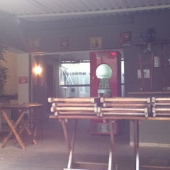 Photo taken at Okupe Hostel by Fernando O. on 4/15/2012