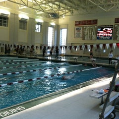Photo taken at University Center Pool by Katie G. on 2/26/2012