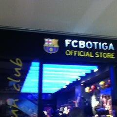 Photo taken at FCBotiga Maremagnum by Paola L. on 4/23/2012