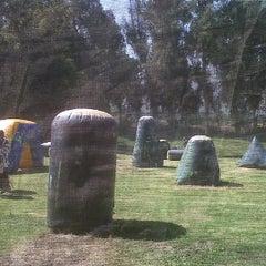 Photo taken at Hacienda Tobalaba by Felipe G. on 3/24/2012