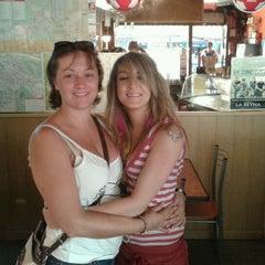 Photo taken at La Reyna by Estefania C. on 8/26/2012