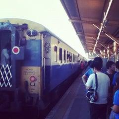 Photo taken at สถานีรถไฟสุราษฎร์ธานี (Surat Thani) SRT4239 by Boripbin •. on 4/8/2012