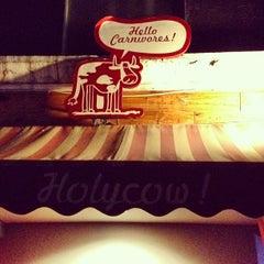 Photo taken at Holycow! Steakhouse by Sammy L. on 7/15/2012