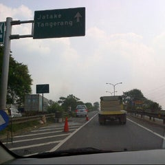 Photo taken at Exit tol curug / bitung by Nengah S. on 7/30/2012