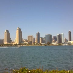 Photo taken at Coronado Beach by Sahar A. on 6/21/2012