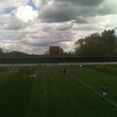 Photo taken at U-M Soccer Complex by Brian B. on 9/9/2012