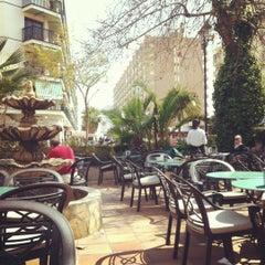 Photo taken at Baskin Café by Naga S. on 3/16/2012