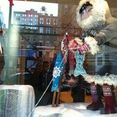 Photo taken at Lion Brand Yarn Studio by sanae on 2/12/2012