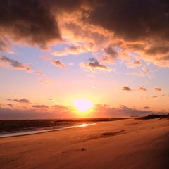 Photo taken at Civic Beach (Point Lookout) by Kristen K. on 2/25/2012