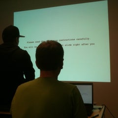Photo taken at Interactive Cognition Lab by Spencer C. on 4/11/2012