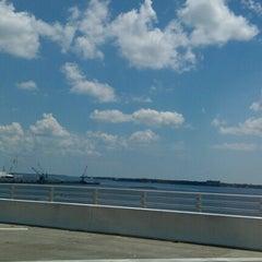 Photo taken at The Hathaway Bridge by Regina R. on 8/25/2012