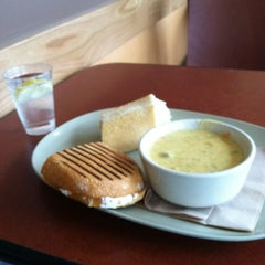 Photo taken at Panera Bread by Devin B. on 3/15/2012