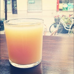 Photo taken at Noir Kaffekultur by Emilia B. on 6/10/2012