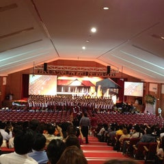 Photo taken at โรงเรียนวัฒนาวิทยาลัย (Wattana Wittaya Academy) by Jammy C. on 2/25/2012