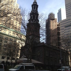 Photo taken at St. Paul's Chapel by Monica S. on 3/10/2012