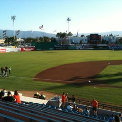 Photo taken at San Jose Municipal Stadium by TJ on 7/7/2012
