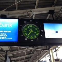 Photo taken at JR 横浜駅 3-4番線ホーム by Koshiba H. on 3/7/2012