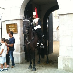 Photo taken at Horse Guards Parade by Mauro A. on 8/23/2012