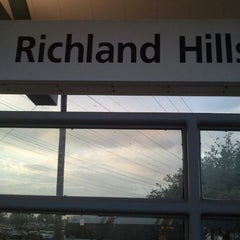 Photo taken at Richland Hills Station (TRE) by Javier H. on 4/27/2012